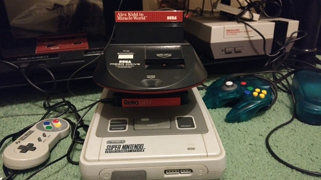 snes and mastersystem